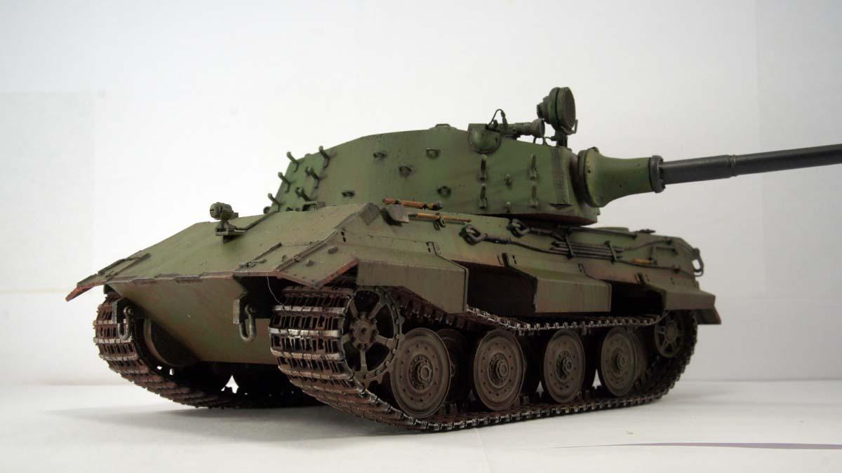 E-75, Entwicklung series — Каропка.ру — стендовые модели, военная ...