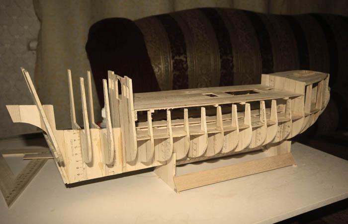 Корабль из дерева своими руками черная жемчужина 4