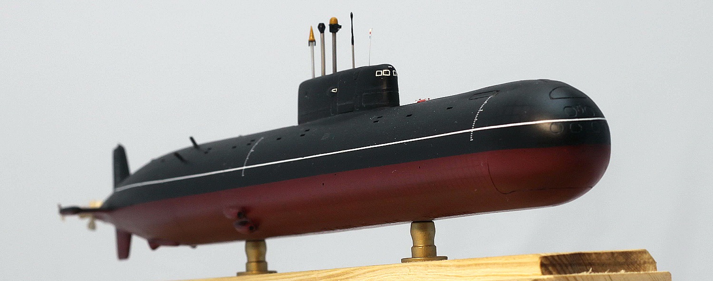 Soviet SSN K-278 Komsomolets (project 685 - Mike), Polar ...