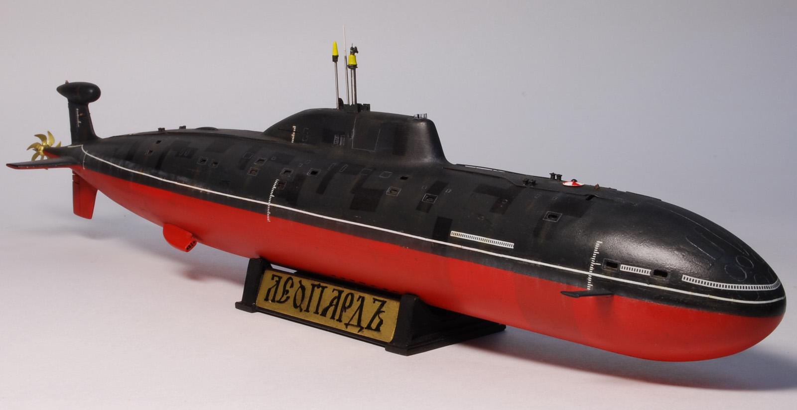размер подводной лодки щука