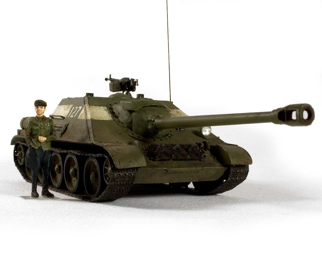 СУ-122-44 Гром (Берлин, 1946) — Каропка.ру — стендовые модели ...