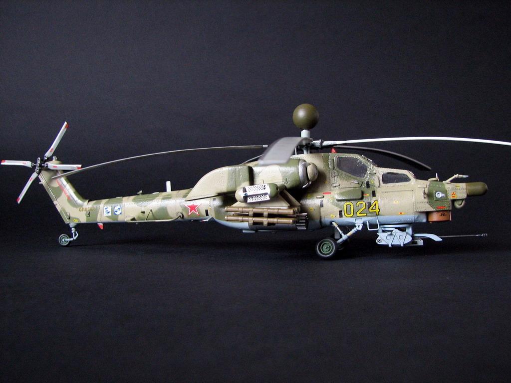 инструкция по сборке модели ми-28н - фото 2
