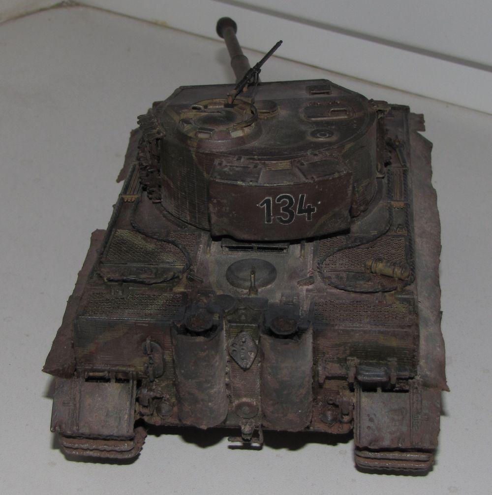 Немецкий тяжелый танк тигр t vi e