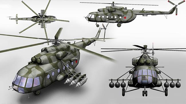 Ми-8МТ - модернизированный
