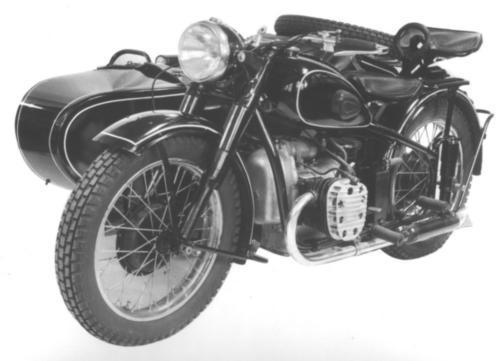 Советский мотоцикл М-72 с коляской — Каропка.ру — стендовые модели ...