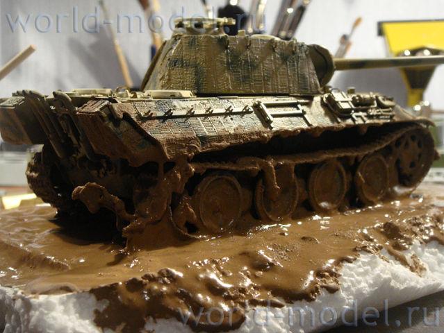 Как сделать грязь на модель