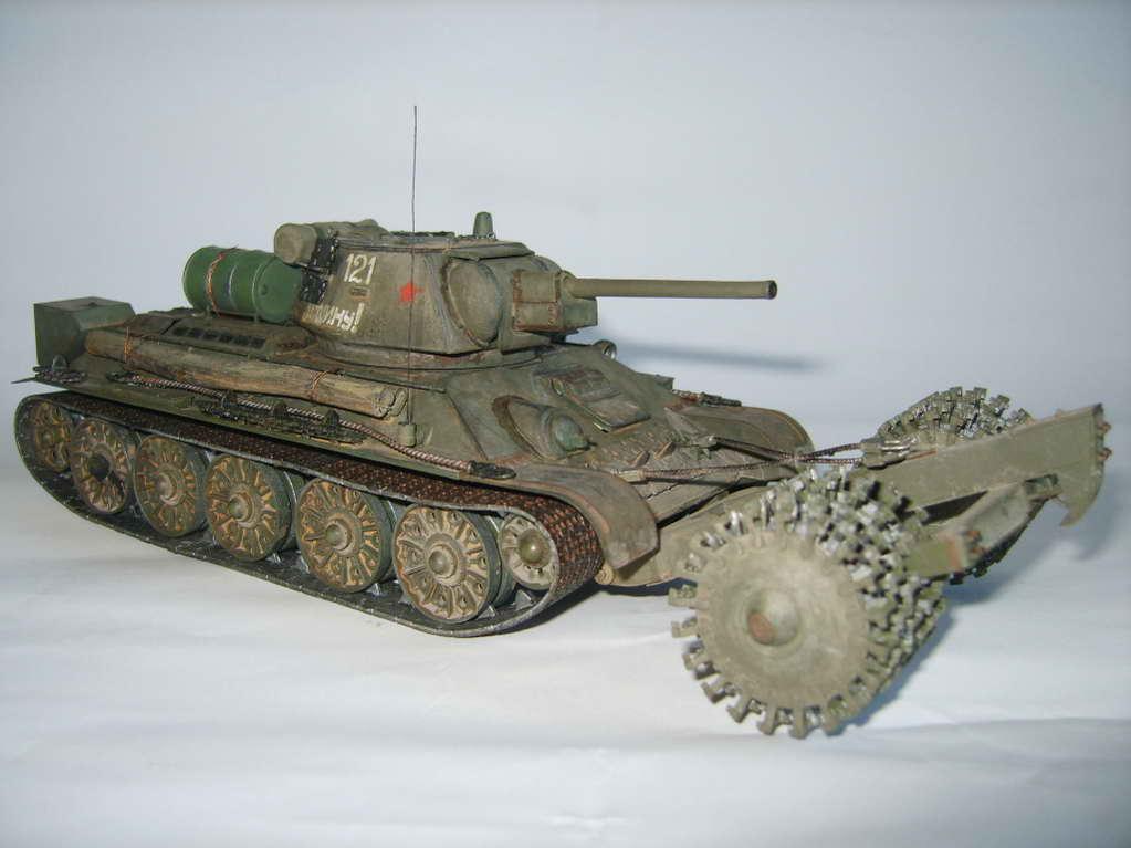 Т-34/76 ЧТЗ — Каропка.ру — стендовые модели, военная миниатюра