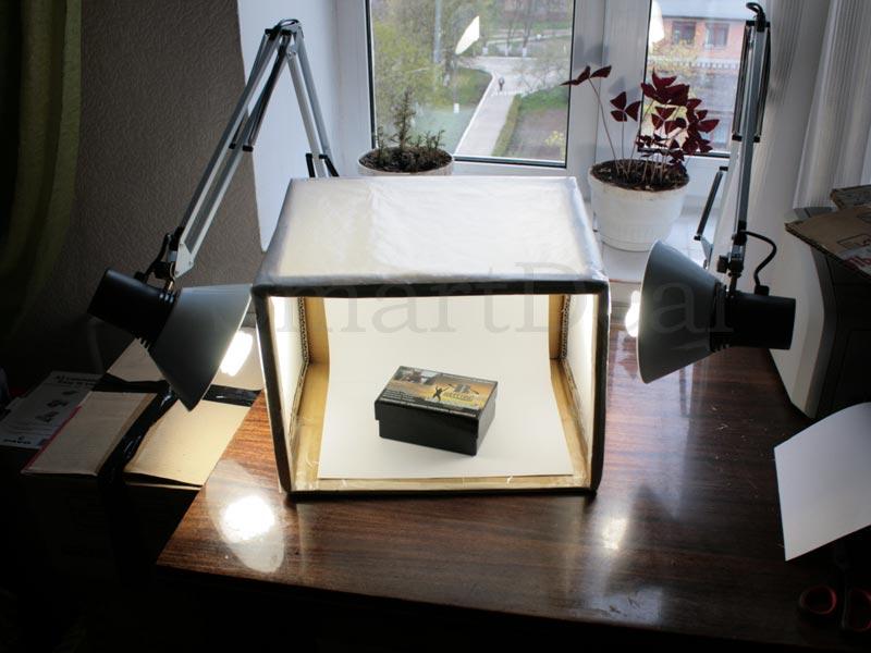 Как сделать красивый свет для фото