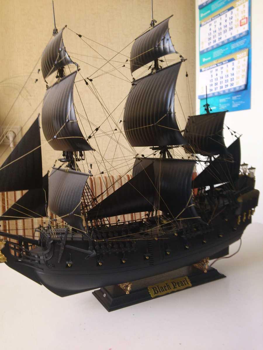 Фото черная жемчужина модель