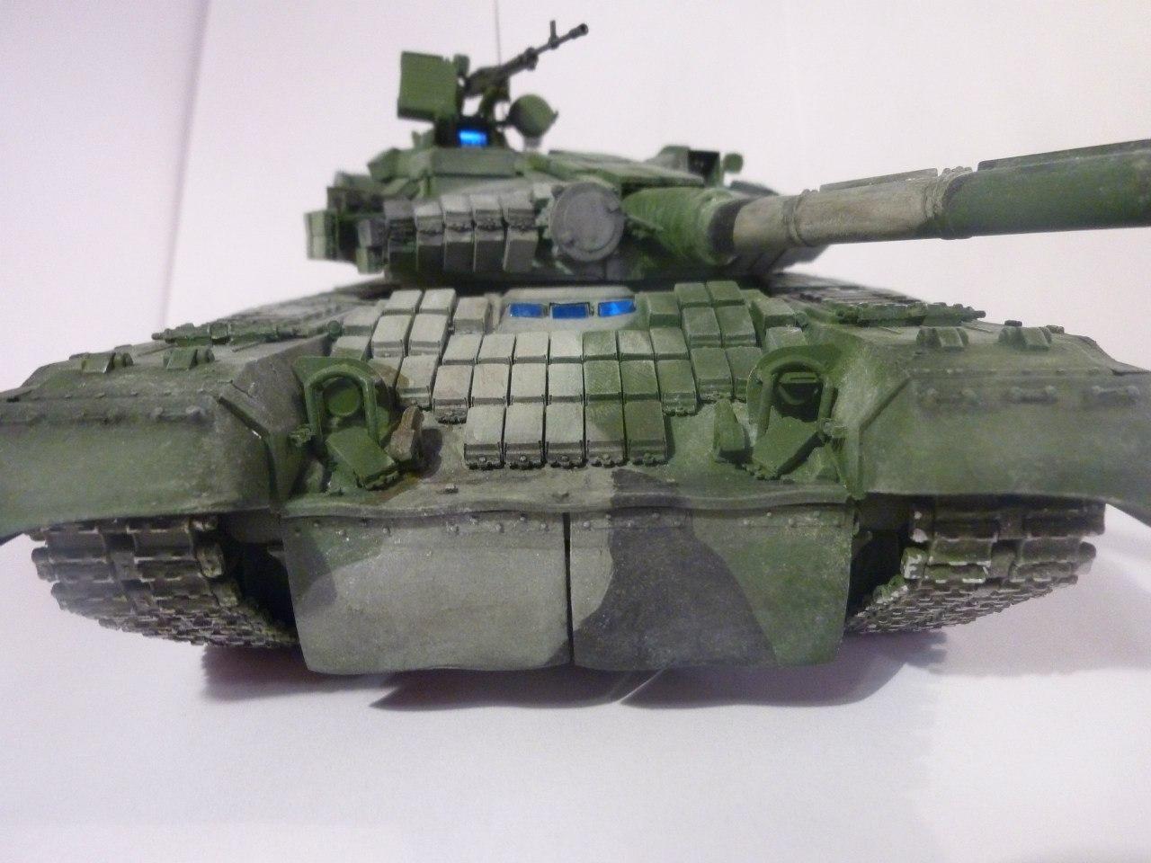 схема сборки модели такнка т80