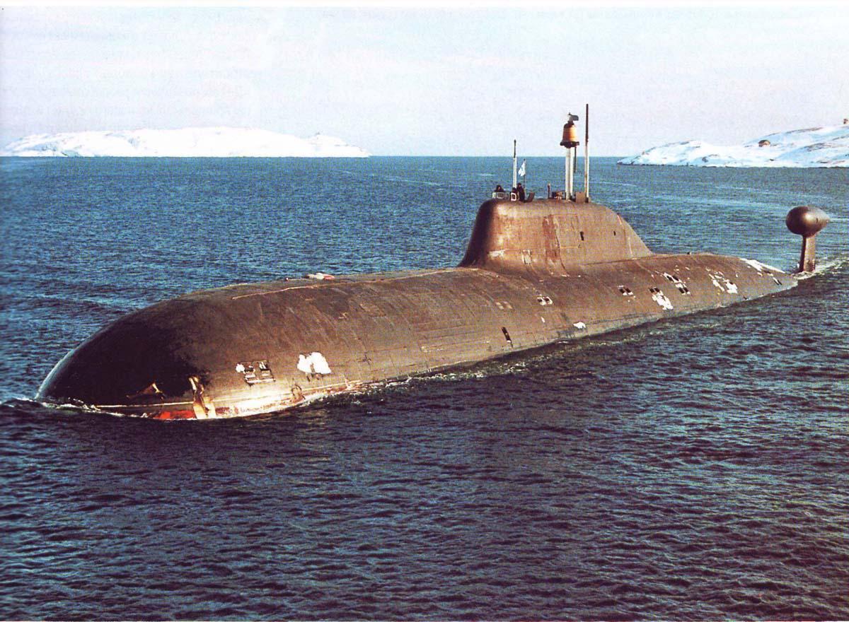 подводная ялик  класса щучина фото