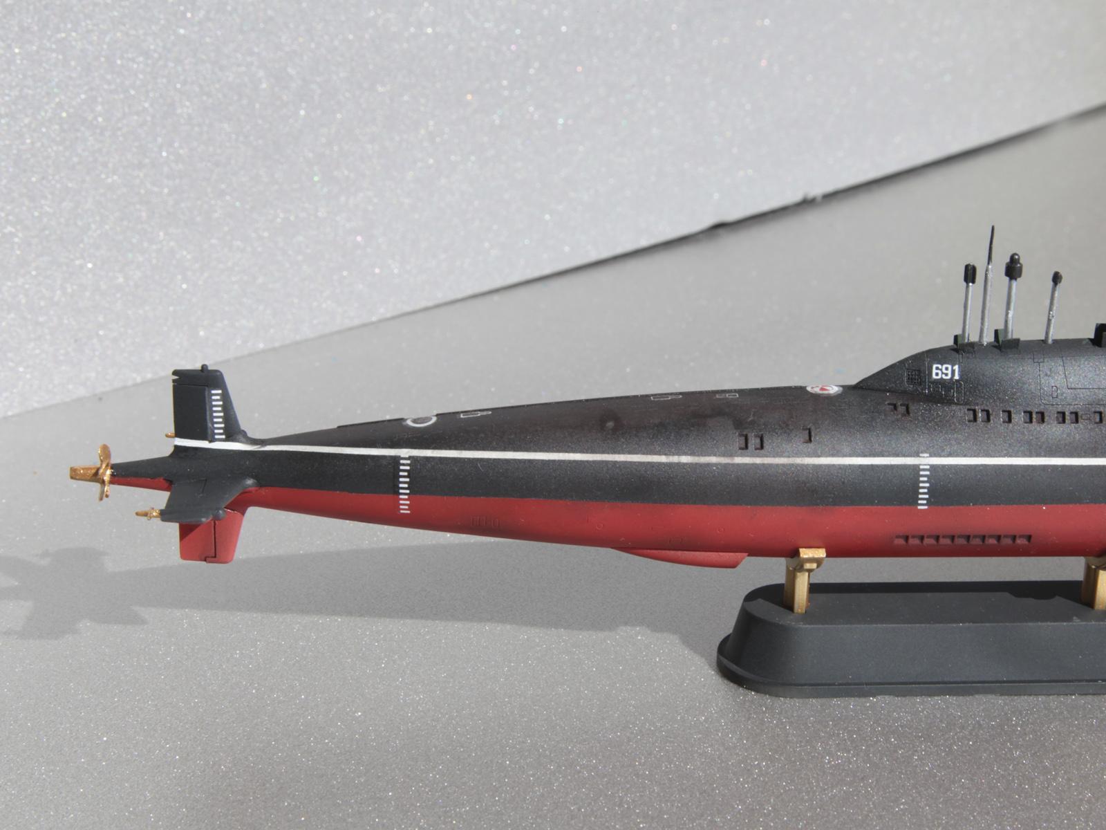 проект подводной лодки разработал