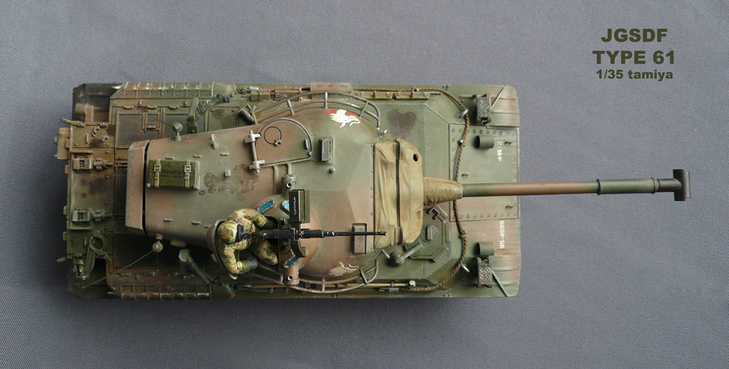 Jgsdf type 61 tank 1 35
