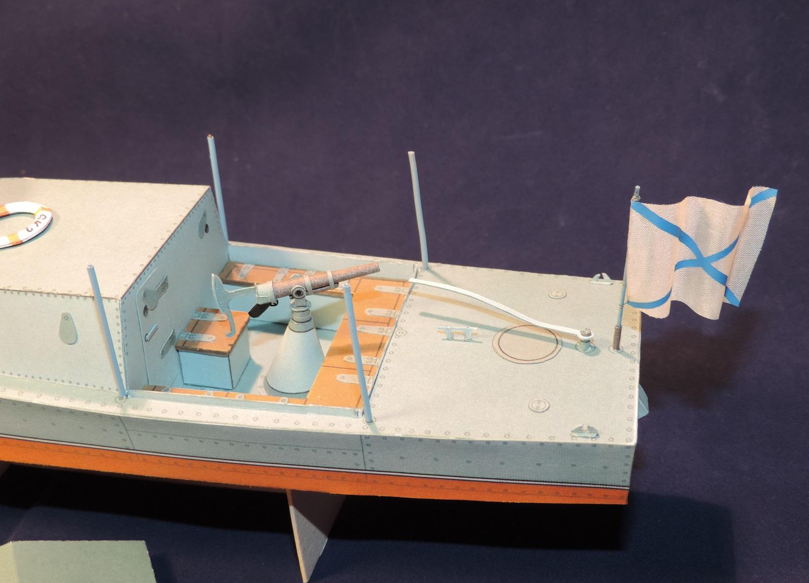 Модель корабля своими руками из картона 38