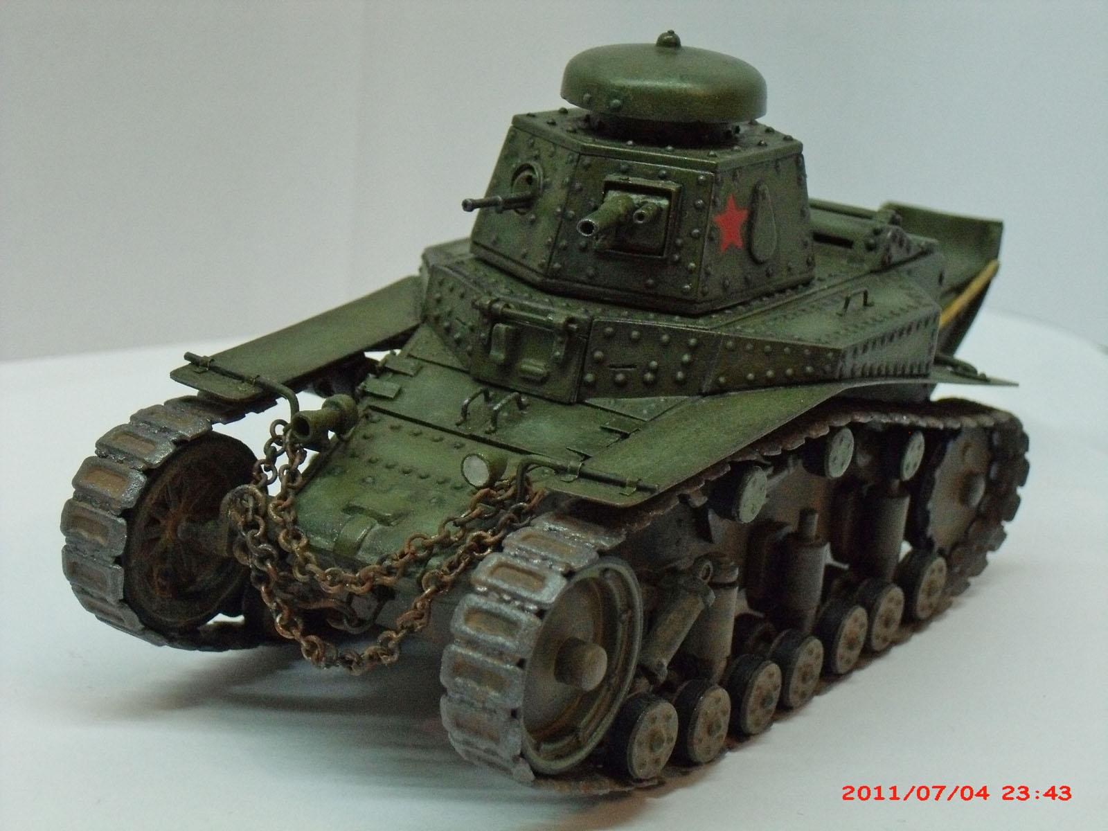 т-18 — Каропка.ру — стендовые модели, военная миниатюра