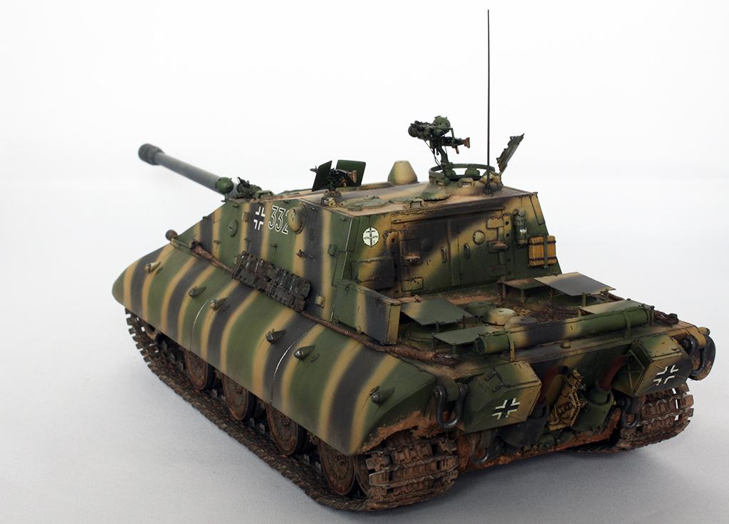 Jagdpanzer E-100 «Salamander» Ausf.A (Early Production ...