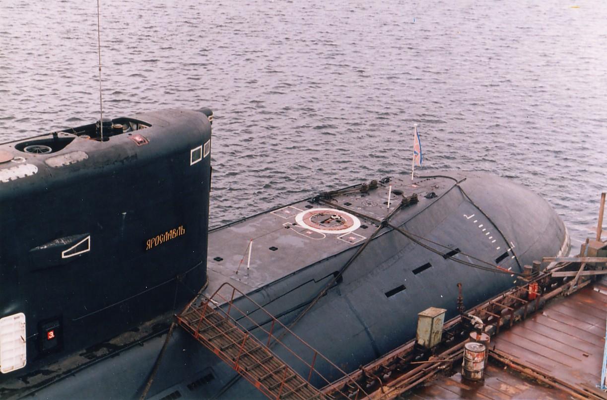 заложена подводная лодка