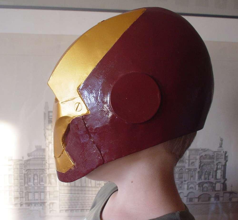 Папье-маше своими руками шлем
