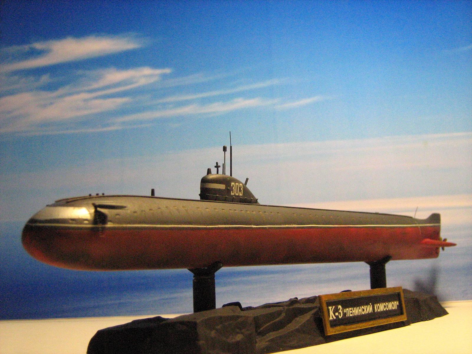 фото первой атомной подводной лодки