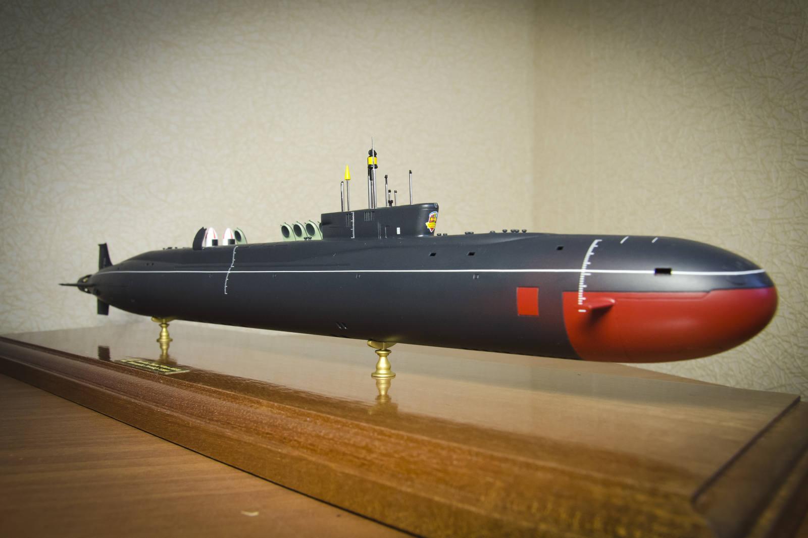 подводная лодка акула 955