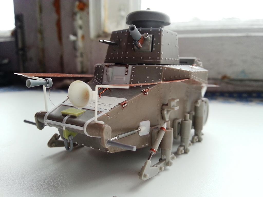 Т-18 (МС-1) — Каропка.ру — стендовые модели, военная миниатюра