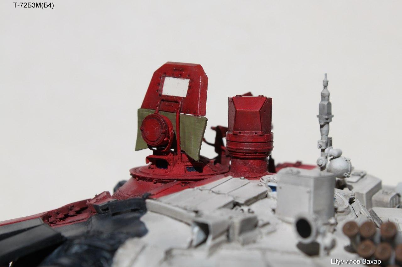 Как по раскраске модели танка