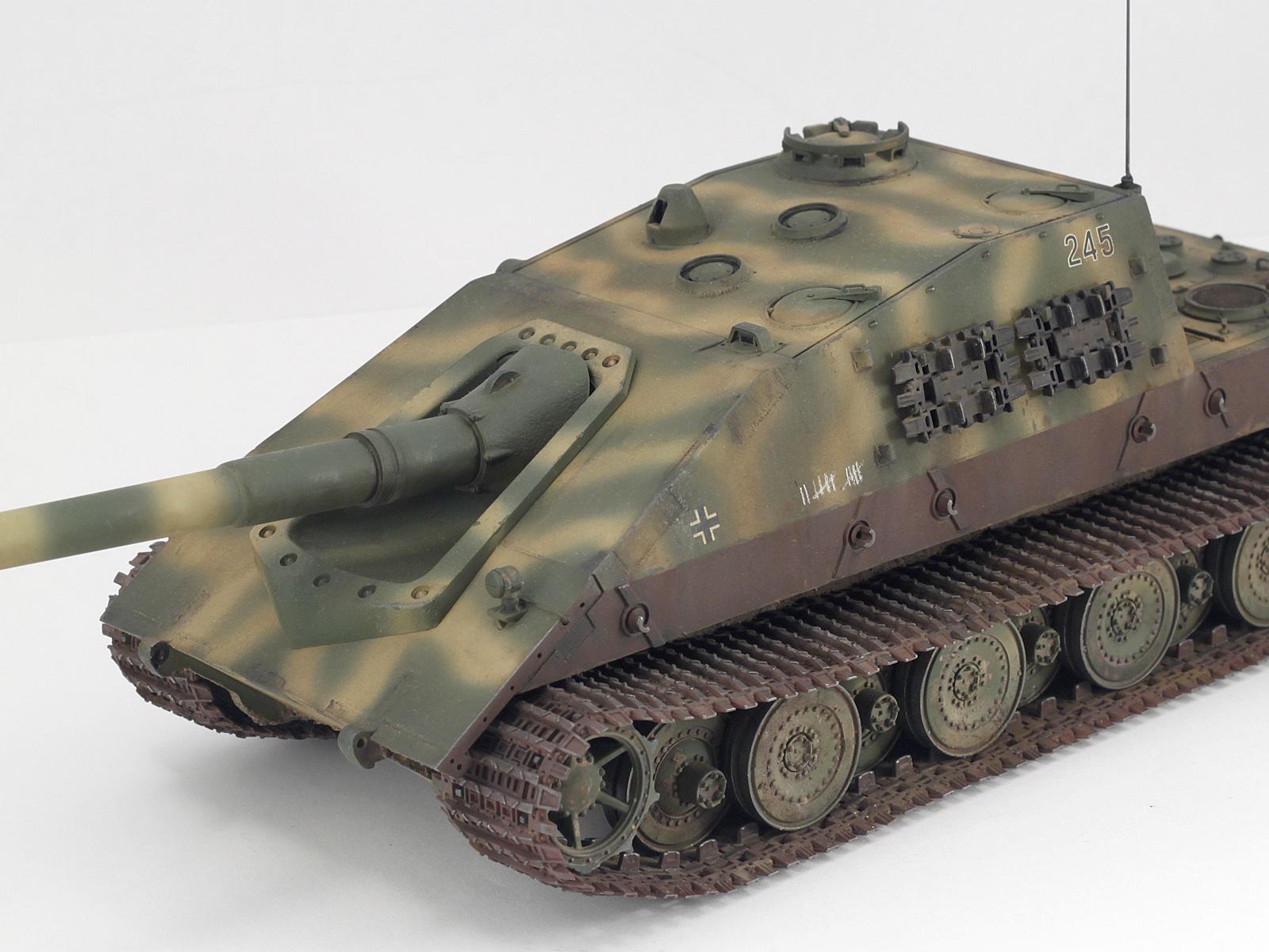 Jagdpanzer E-100 — Каропка.ру — стендовые модели, военная ...
