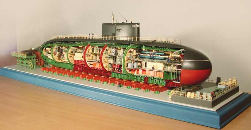 Поделка своими руками - подводная лодка 5