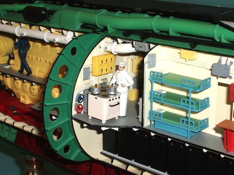 конструировании подводных лодок