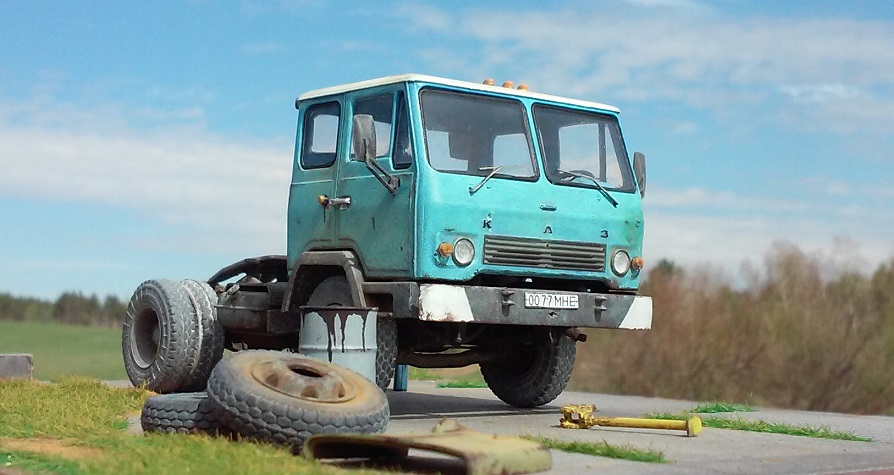 Легендарные Грузовики СССР №31  - КАЗ-608В