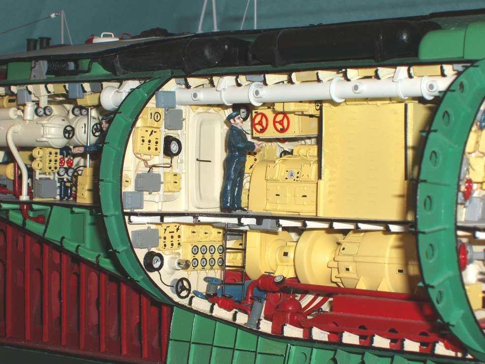 дизельные подводные лодки 1950