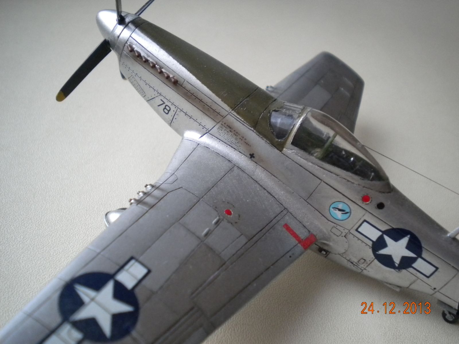 P-51D — Каропка.ру — стендовые модели, военная миниатюра  P-51D — Ка�...