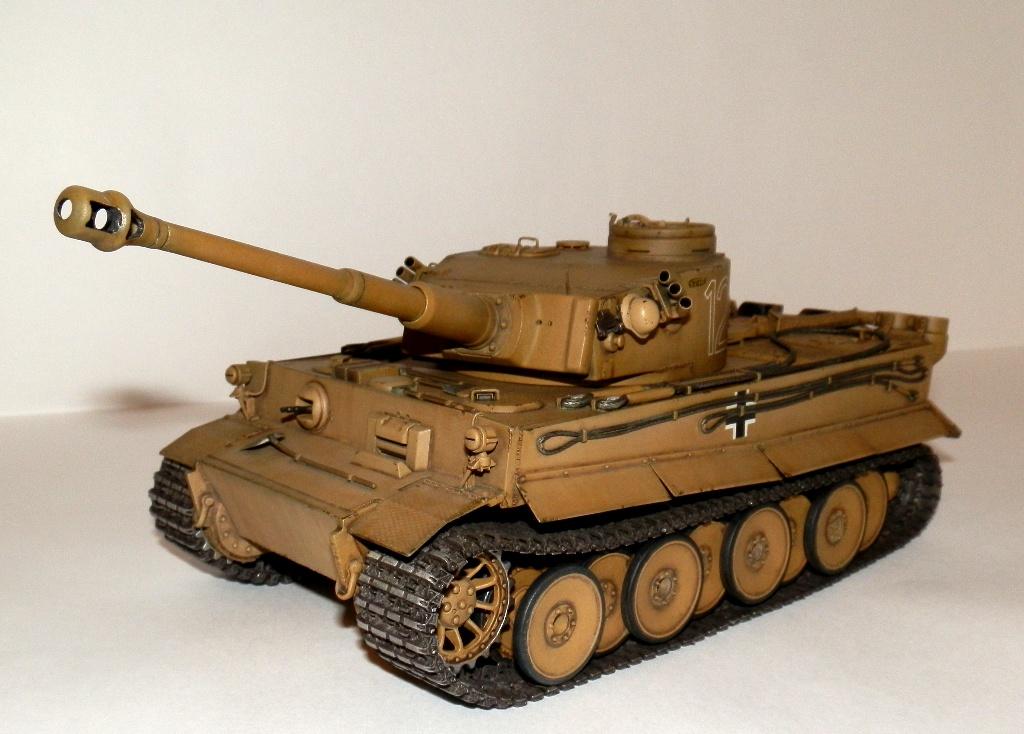 Pz-VI Африканский Тигр