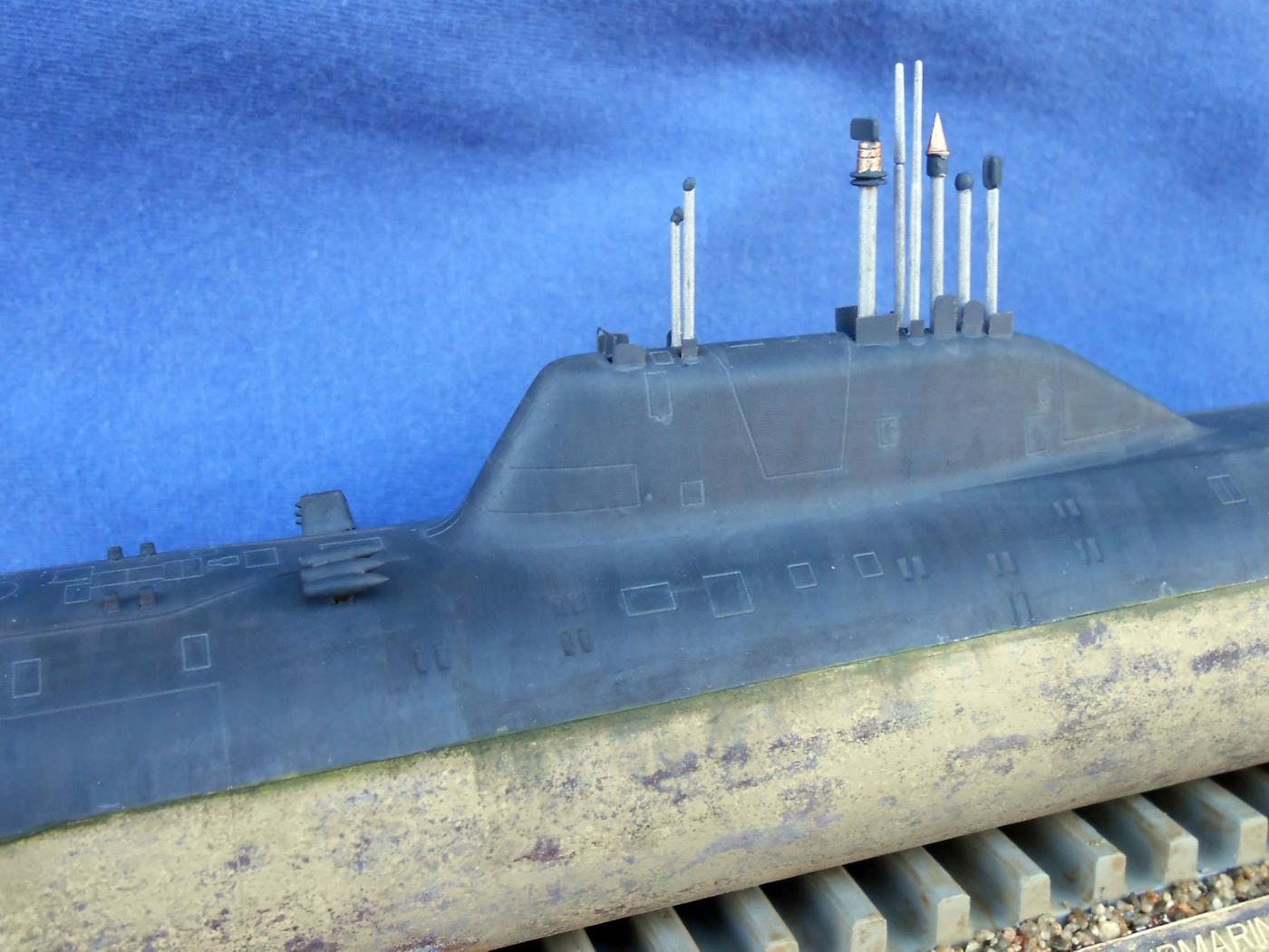 редкие подводные лодки