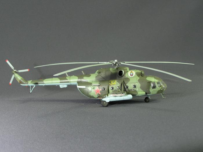 Модель вертолета ми-8 своими руками