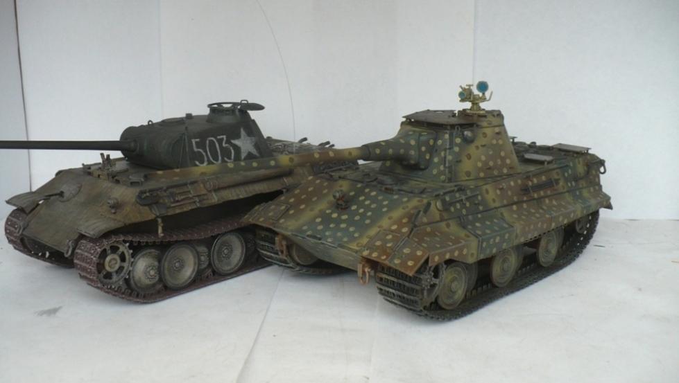 Е-50 — Каропка.ру — стендовые модели, военная миниатюра