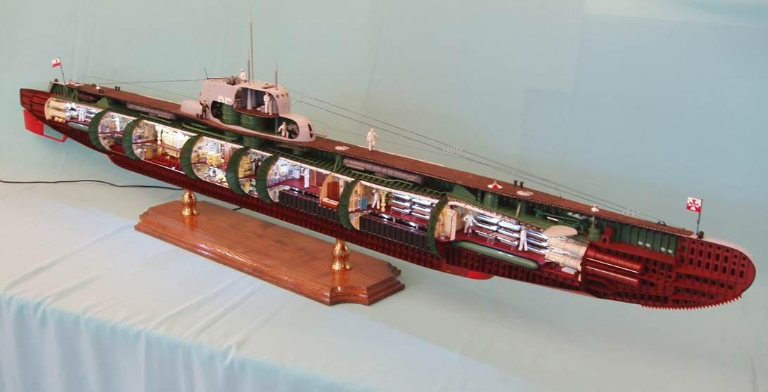 сечения подводных лодок