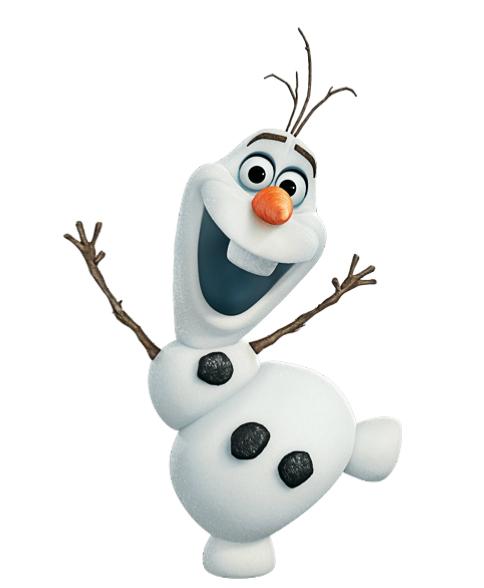 Как сделать снеговика олафа