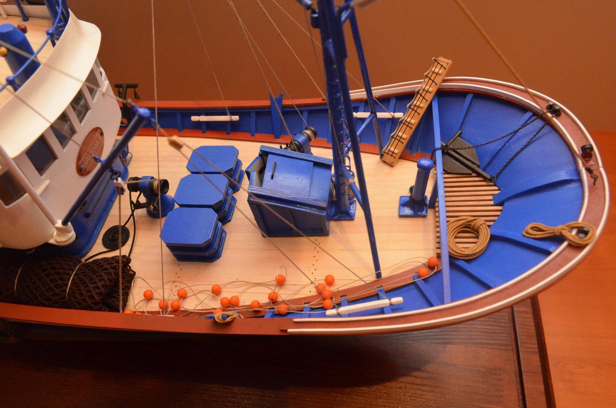 постройка рыболовных судов