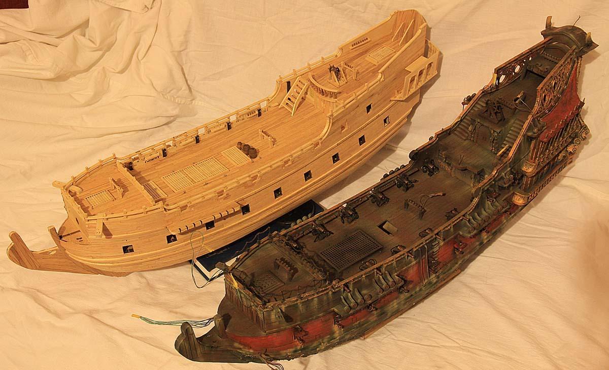 Модель корабля своими руками черная жемчужина 84