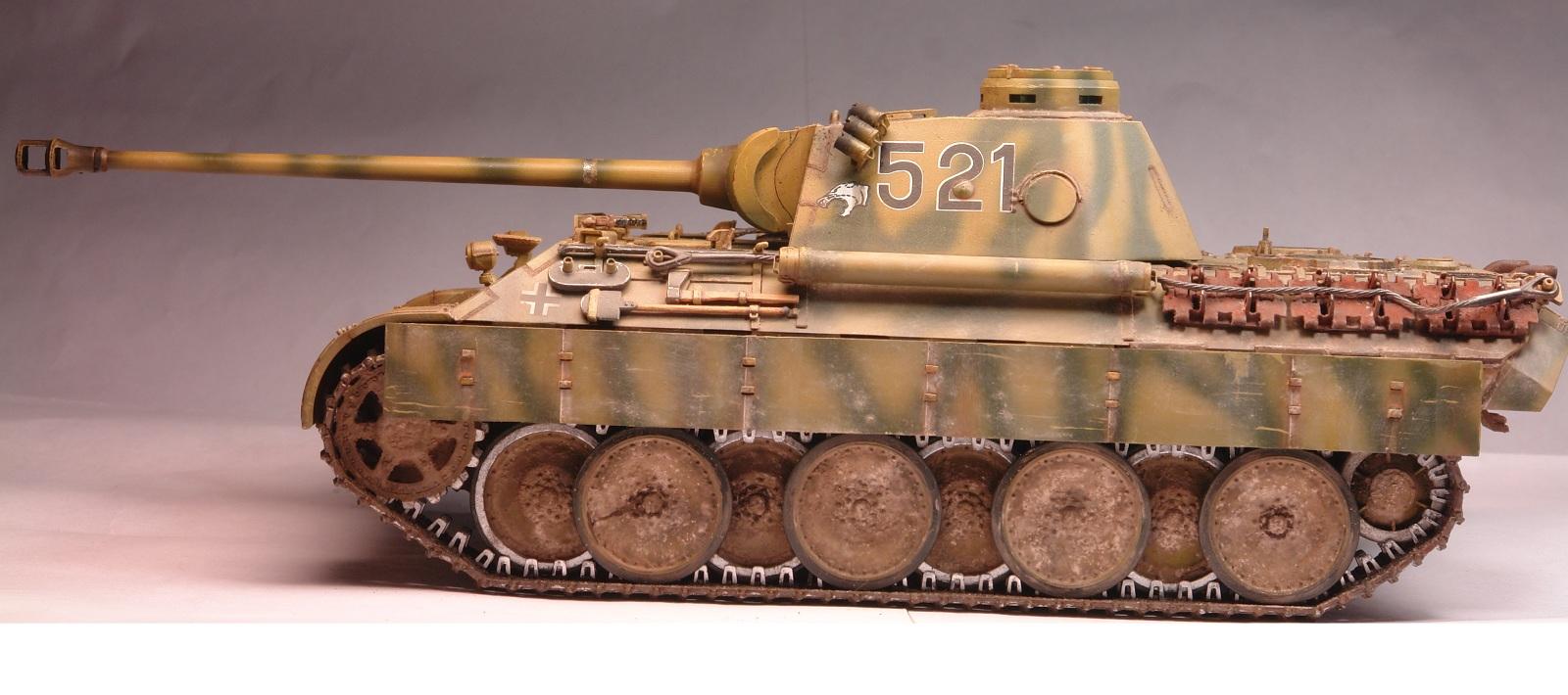 сборная модель танка пантера схема сборки фото
