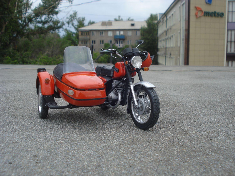 Фото новой коляски от мотоцикла иж 4