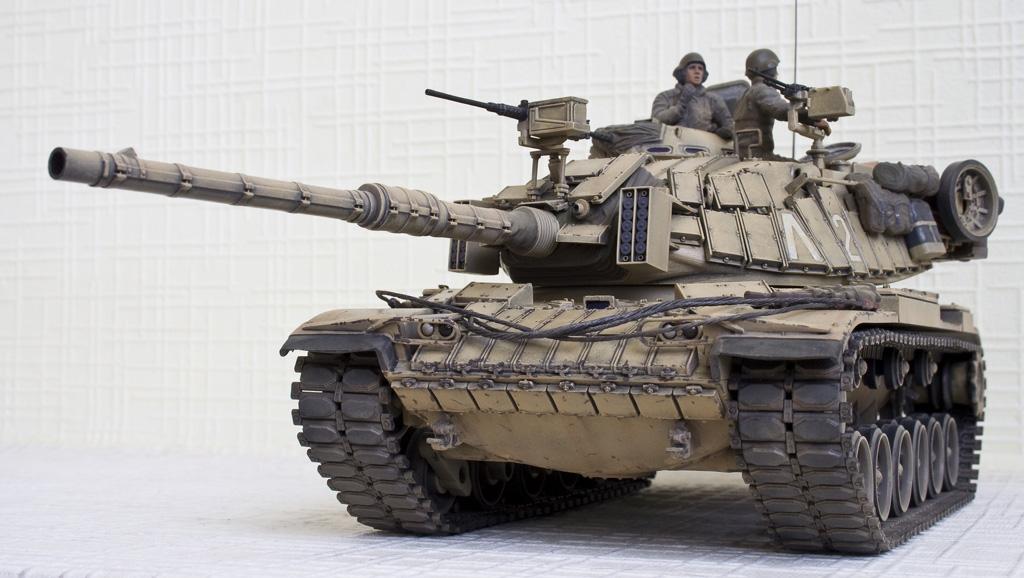 M60 Blazer — Каропка.ру — стендовые модели, военная миниатюра