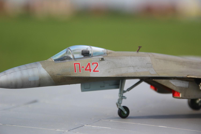 П-42 — Каропка.ру — стендовые модели, военная миниатюра