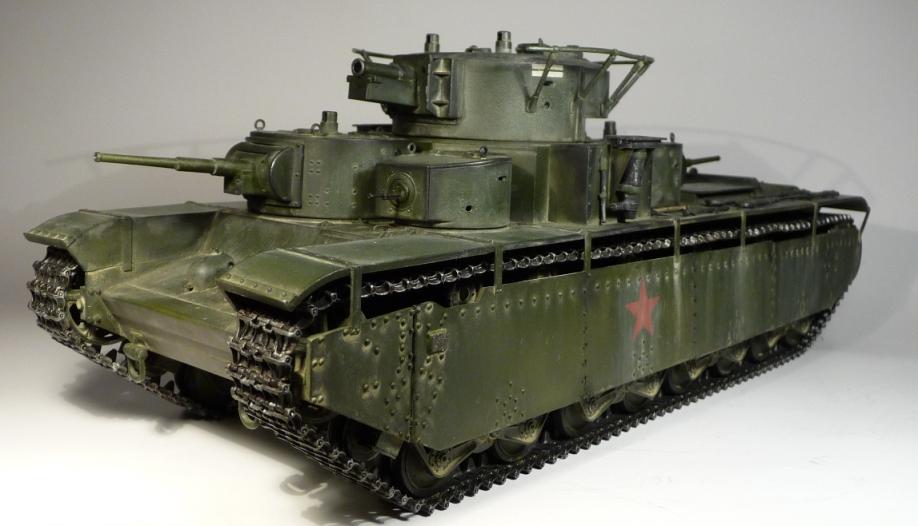 Т-35, 27 июня 1941 г. — Каропка.ру — стендовые модели, военная ...