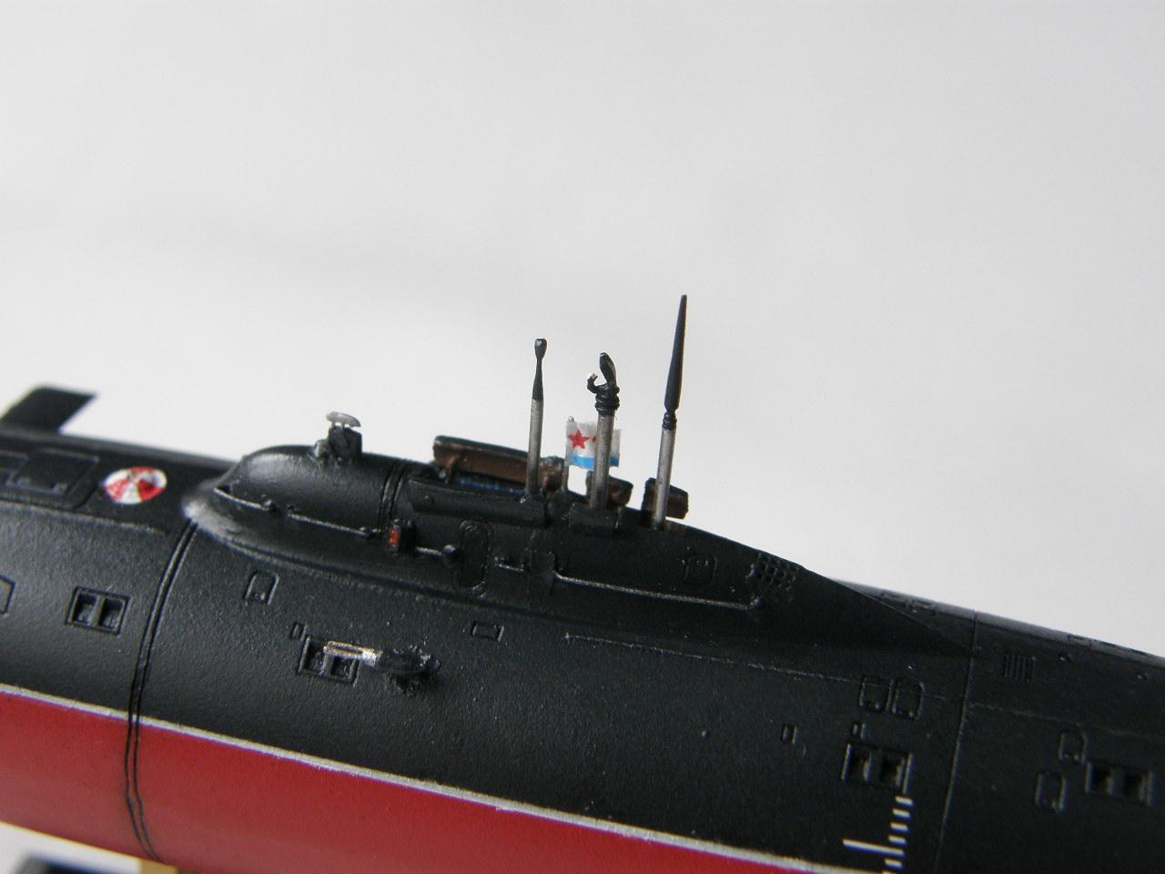 опытная средняя подводная лодка проекта 1710