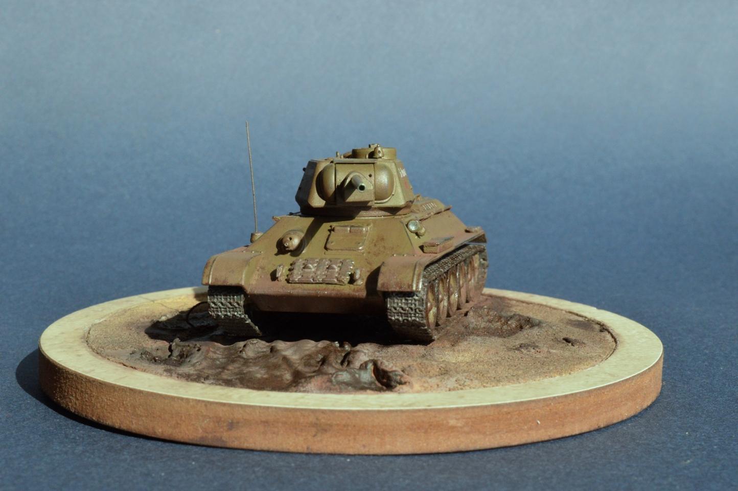 инструкция к сборке т-34 с башней узтм