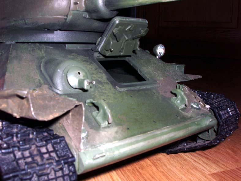 Модель танка т 34 своими руками из металла94