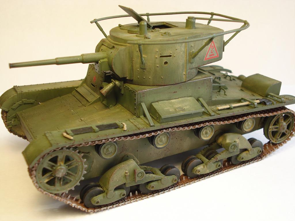Т-26 — Каропка.ру — стендовые модели, военная миниатюра