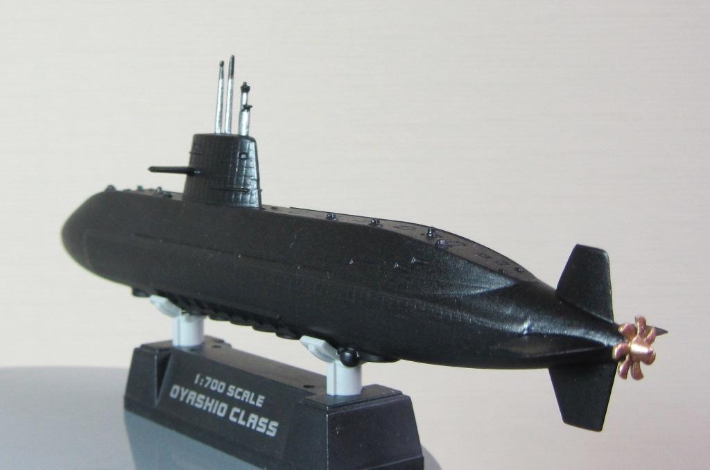 технология изготовления модели подводной лодки